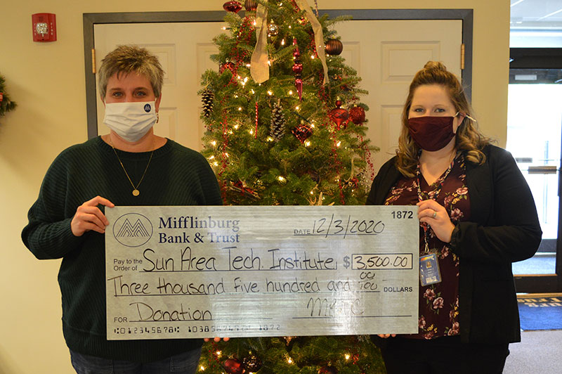 Donation to the Sun Area Technical Institute - December 2020