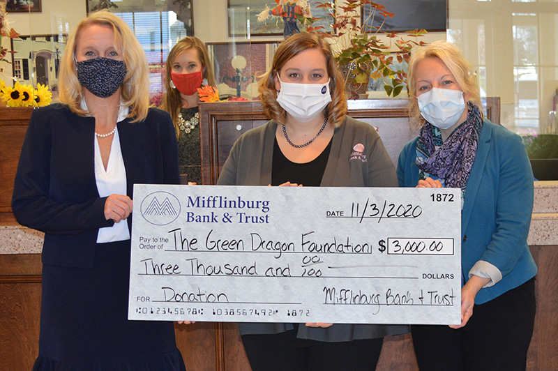 Donation to the Green Dragon Foundation - November 2020