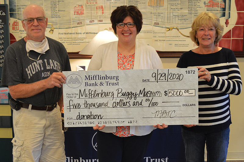 Donation to the Mifflinburg Buggy Museum - September 2020